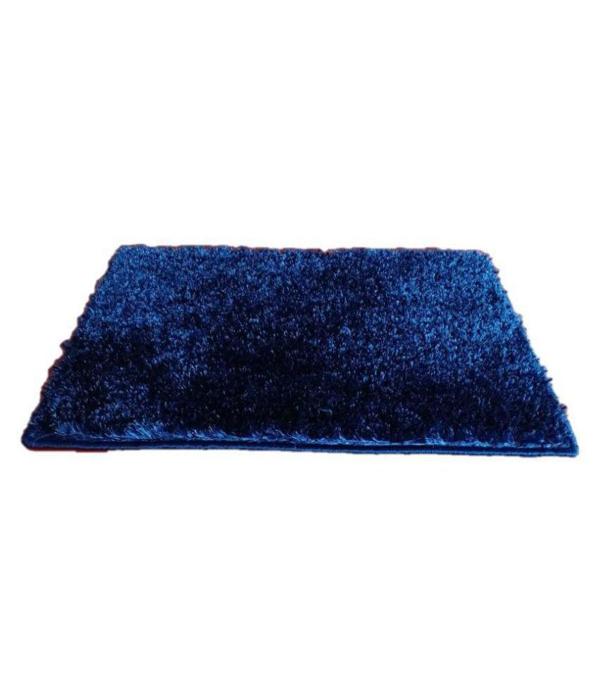 The Onliest Store Blue Single Anti-skid Floor Mat