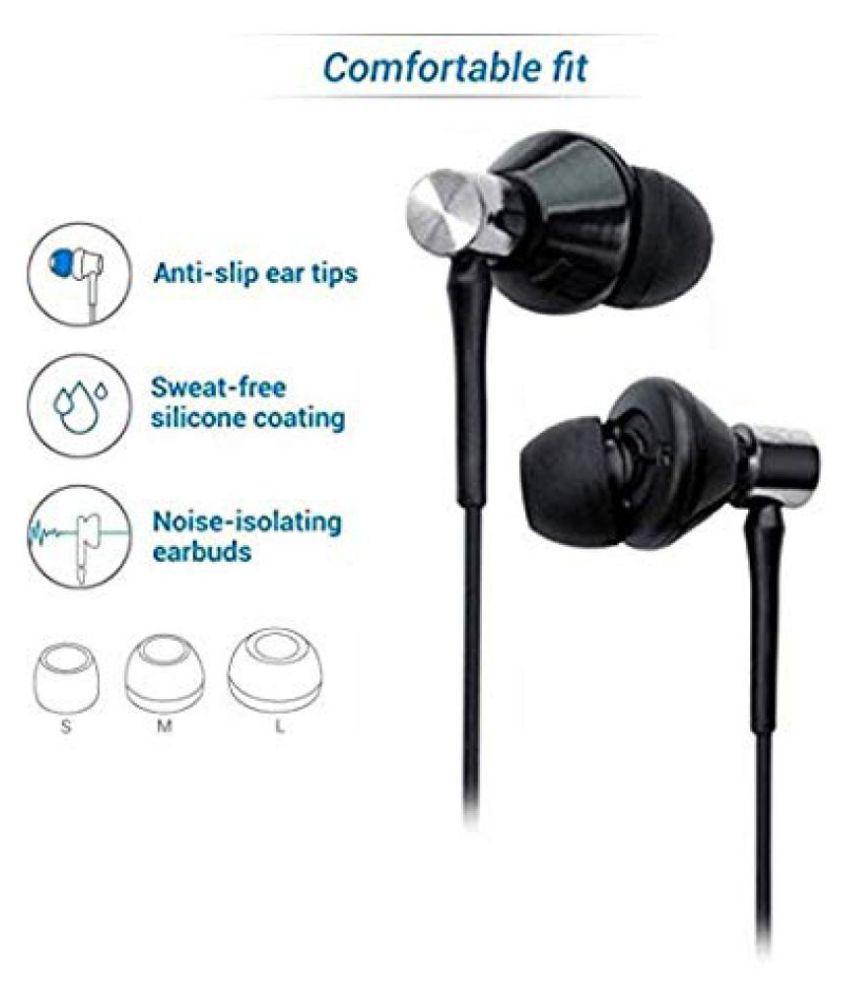 UBON ub 185 In Ear Wired With Mic Headphones/Earphones