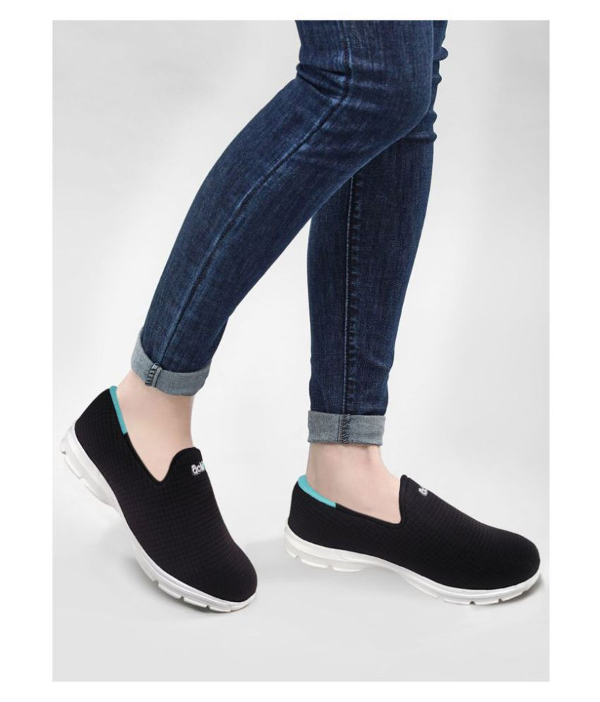 Action Black Casual Shoes