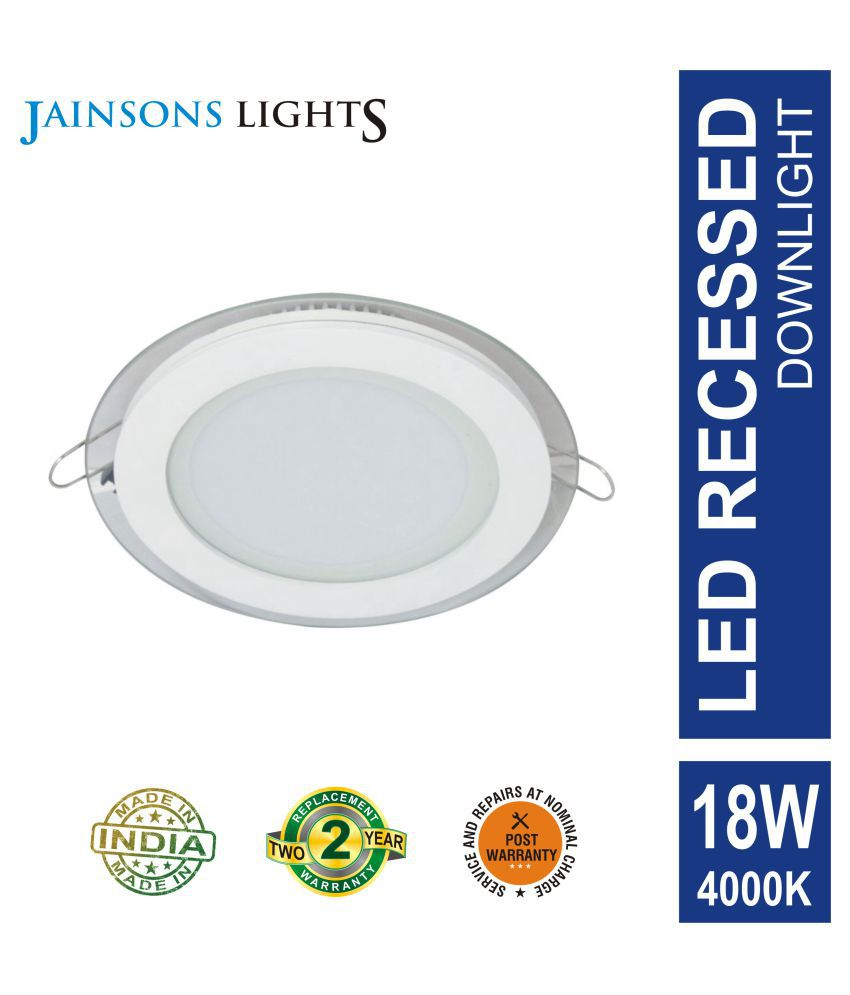Jainsons Lights 18W Round Ceiling Light 20 cms. - Pack of 1