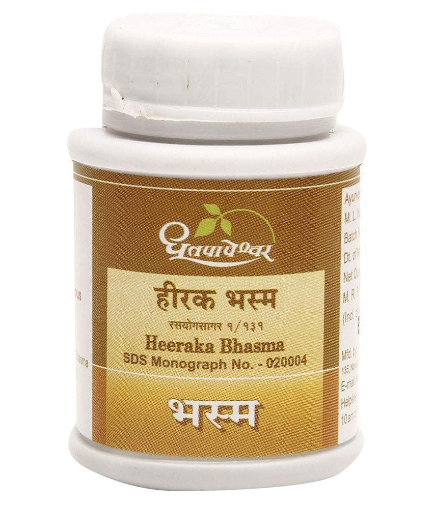 Dhootpapeshwar Heerak Bhasm - 100% Genuine - Powder 100 mg
