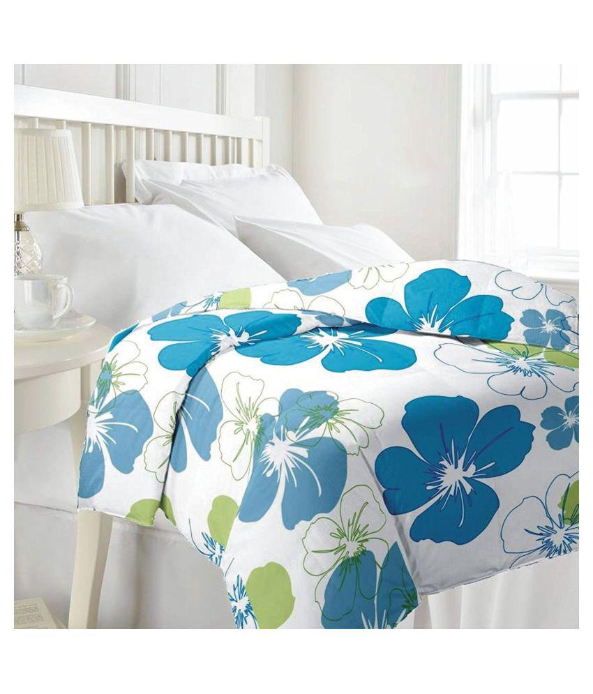 Designer Unit Double Poly Cotton Multi Floral Dohar