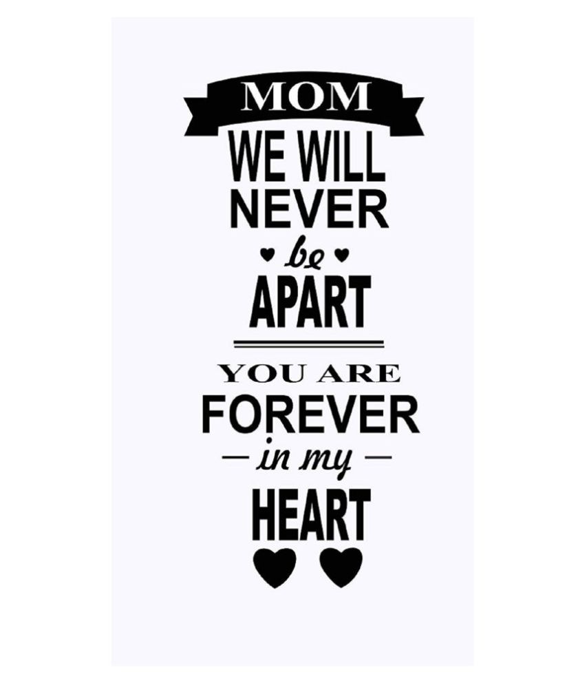 Asmi Collection Happy Mothers Day Motivational Quotes Sticker 90 x 42 cms