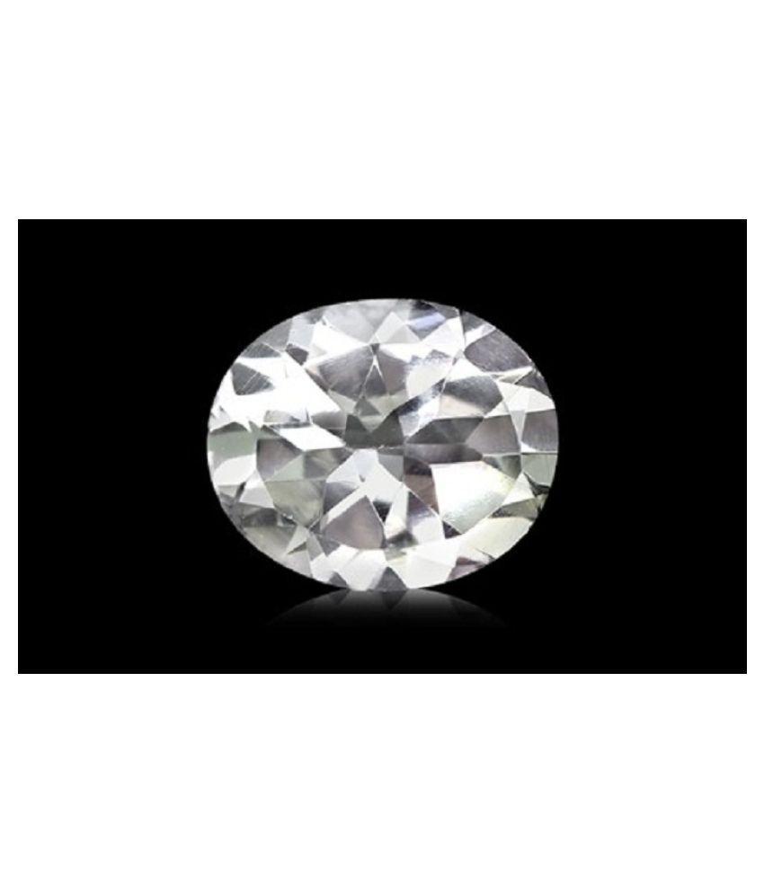Certified Gems Gallery 8.15 -Ratti IGL White Topaz Semi-precious Gemstone