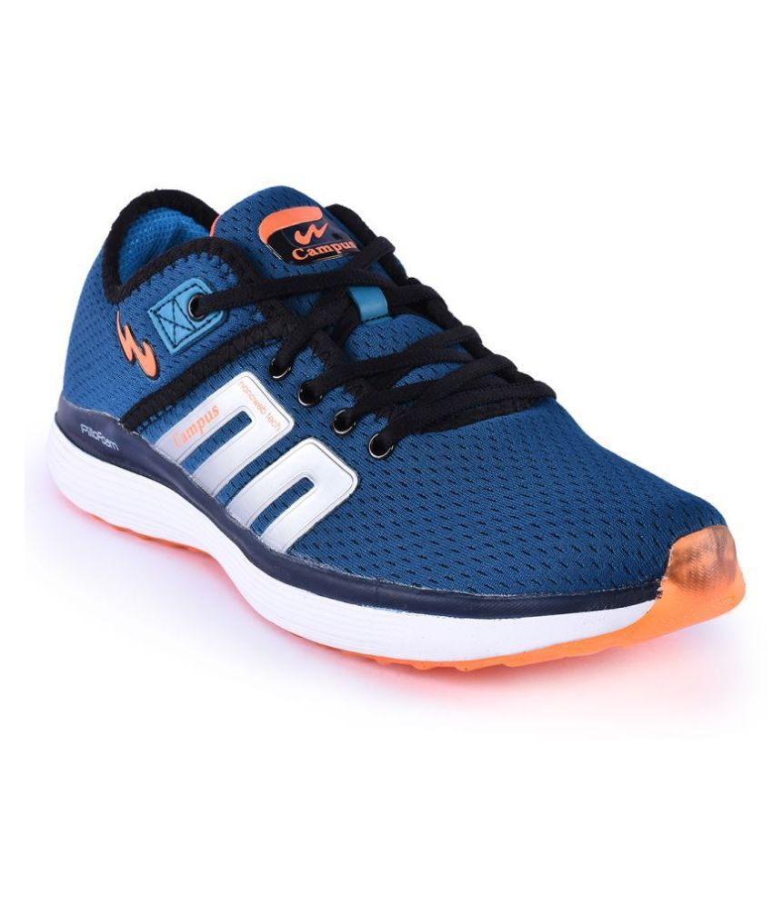 Campus BUMPER Blue Running Shoes