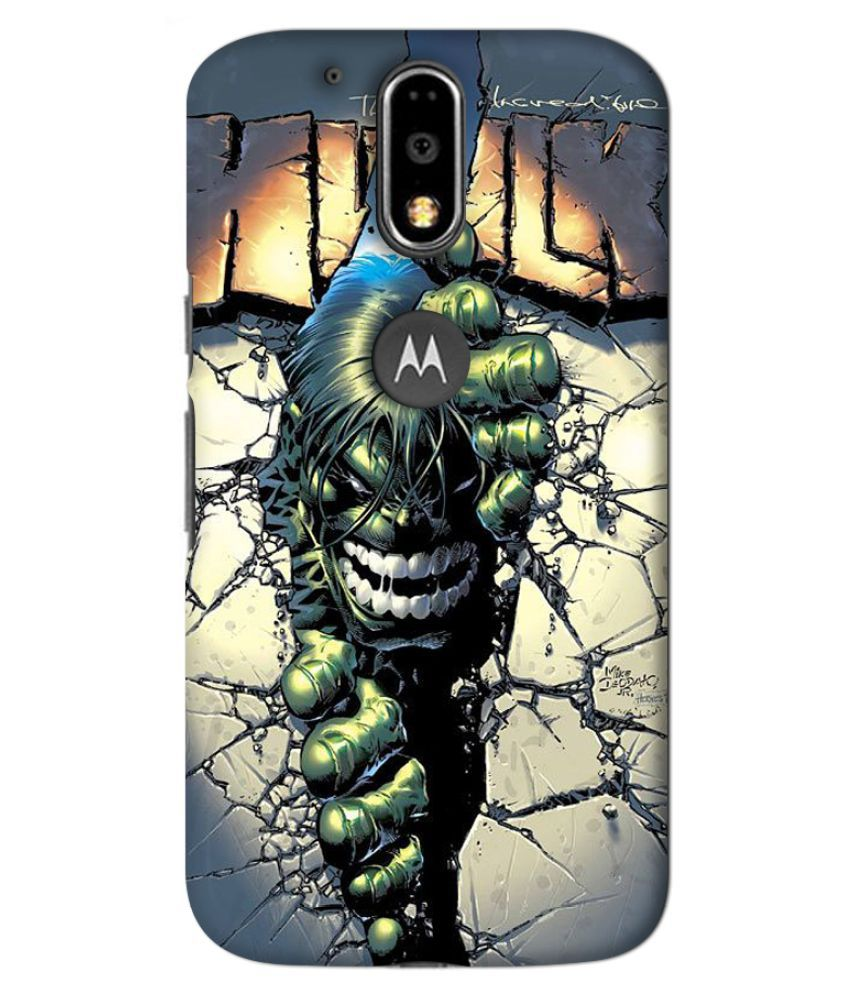 Moto G4 Plus Printed Cover By GV GODESHWARAM