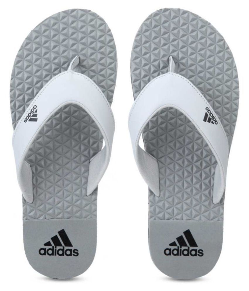Adidas Gray Daily Slippers