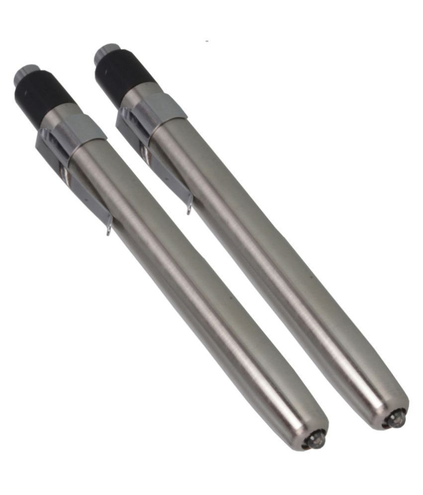 SJ 1W Flashlight Torch Battery Operated - Pack of 2