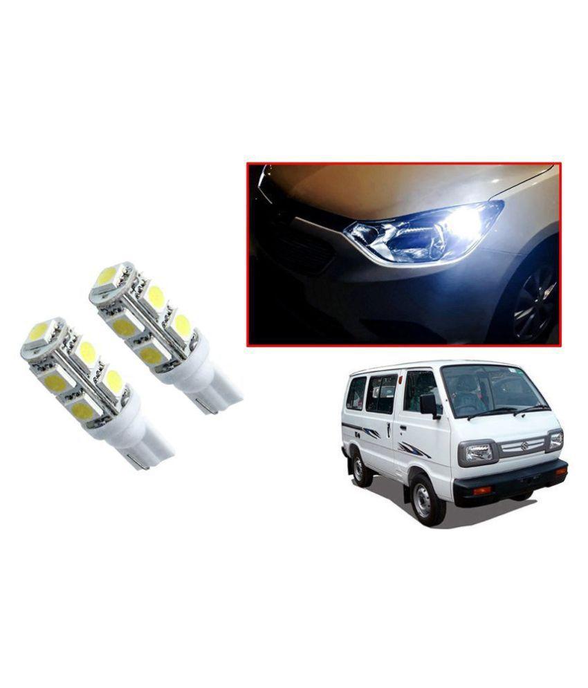 Auto Addict Car T10 9 SMD Headlight LED Bulb for Headlights,Parking Light,Number Plate Light,Indicator Light For Maruti Suzuki Omni