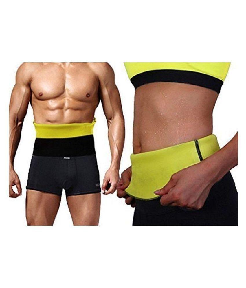 Hanuman Impex Home Gym Size_Large Hot Shaper Belt Waist Trimmer Belt For Unisex