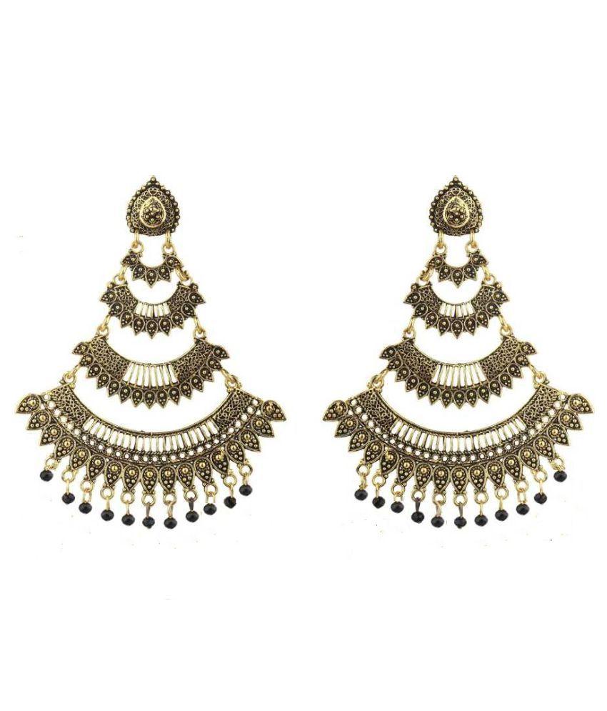 AADIYATRI BIG ANITQUE LOOK EARRINGS FOR GIRLS & WOMEN