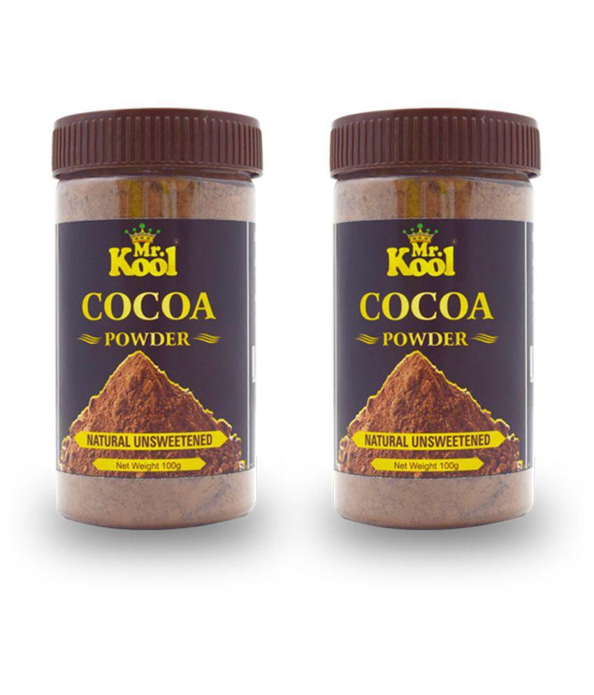 Mr.Kool Natural Cocoa Powder 100 g Pack of 2
