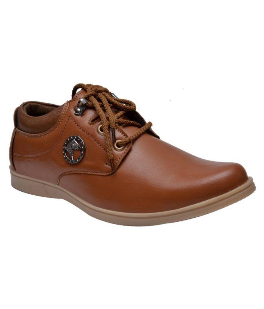 Sir Corbett Lifestyle Tan Casual Shoes