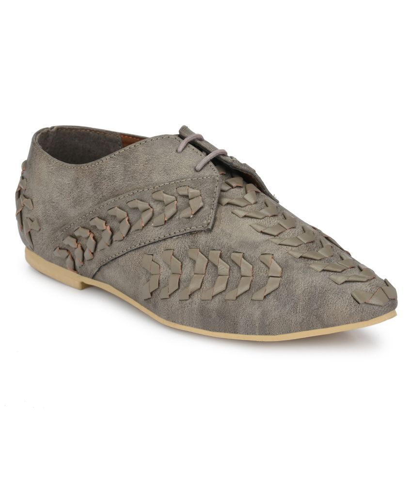 Zebba Gray Casual Shoes