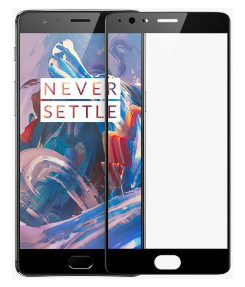 OnePlus 3 T Tempered Glass Screen Guard By vinimox