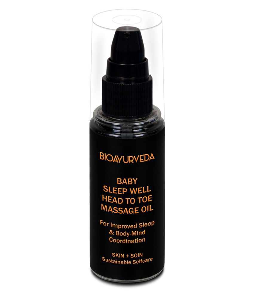 Baby Sleep Well Head to Toe Massage Oil