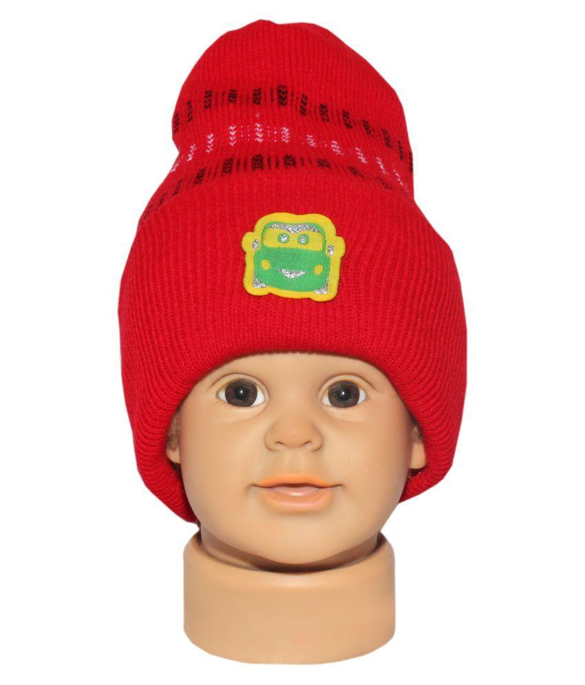 Goodluck Baby cap for Winter