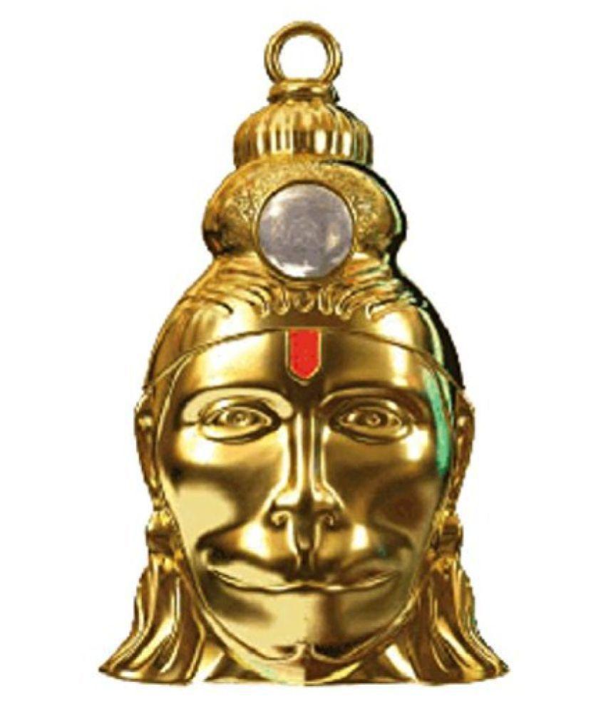 Hanuman Chalisa Yantra Locket With Gold Plated Chain
