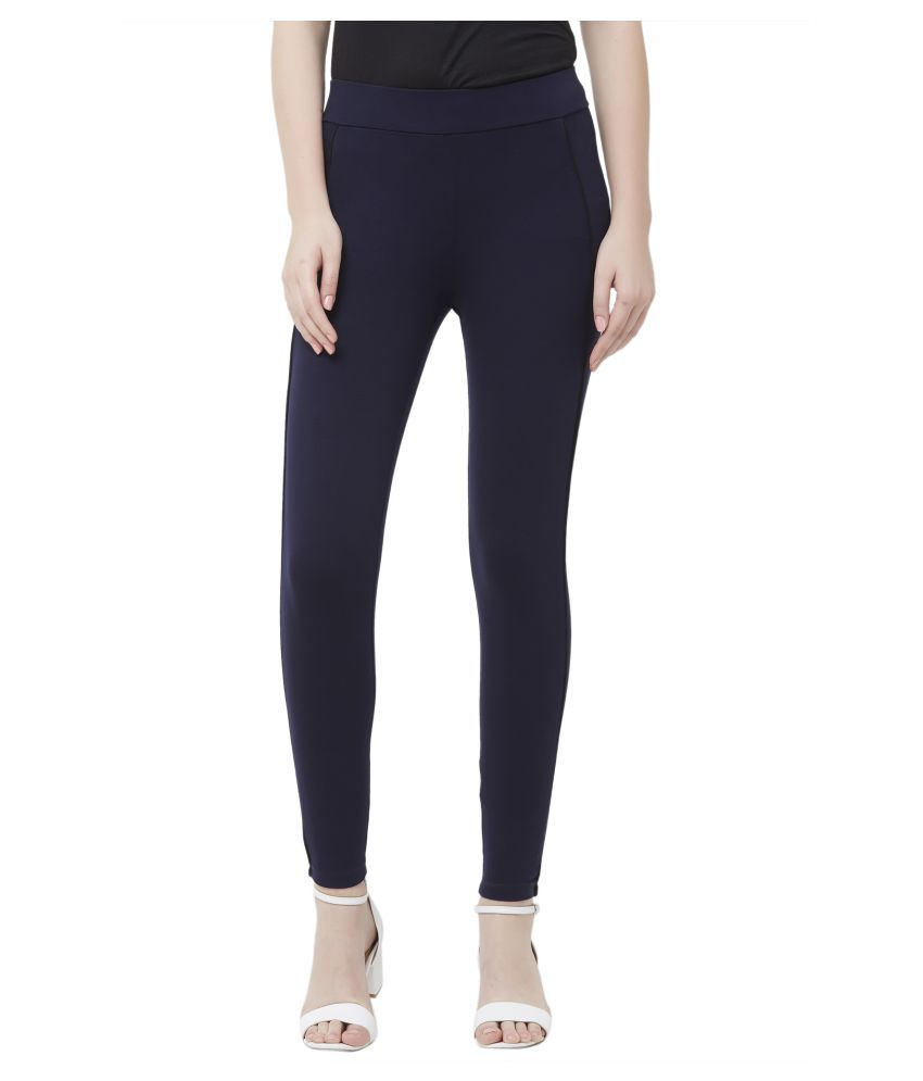 109 F Rayon Jeggings - Navy