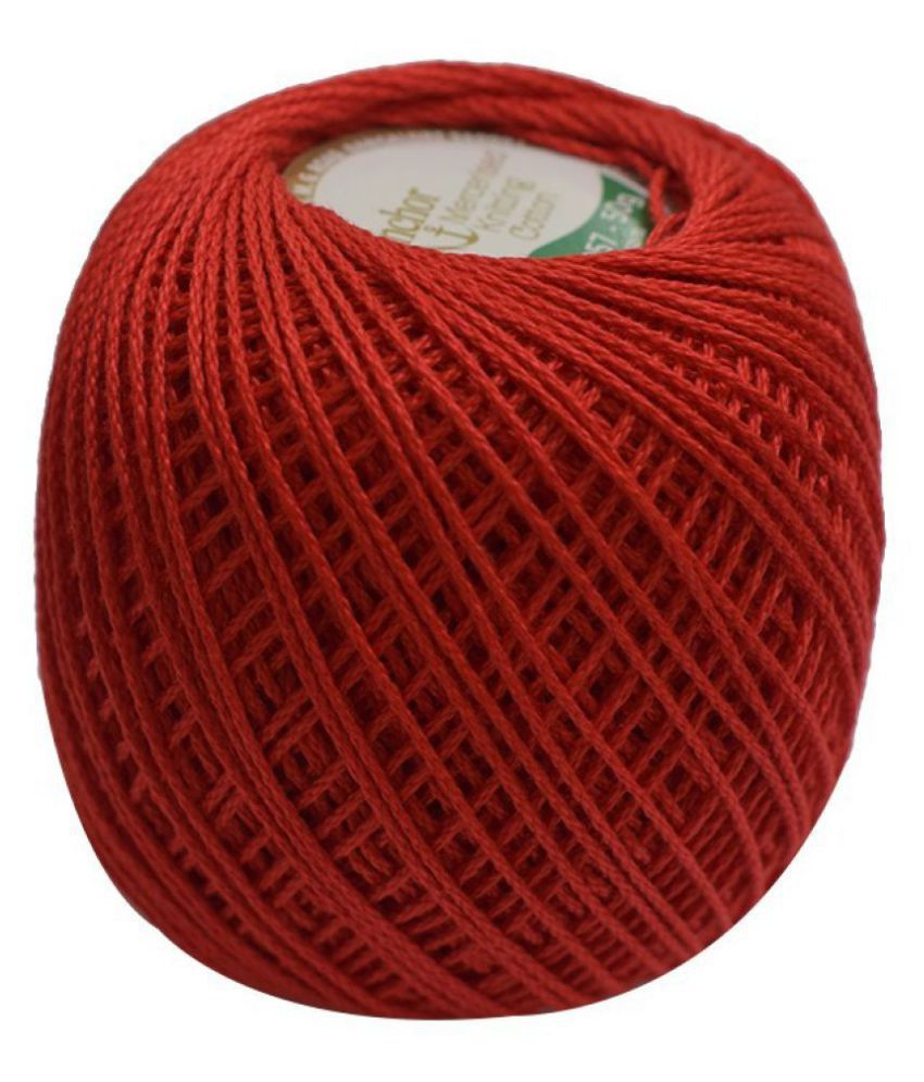 Anchor Mercerised Knitting Cotton Fast colour-Assorted 50gx10