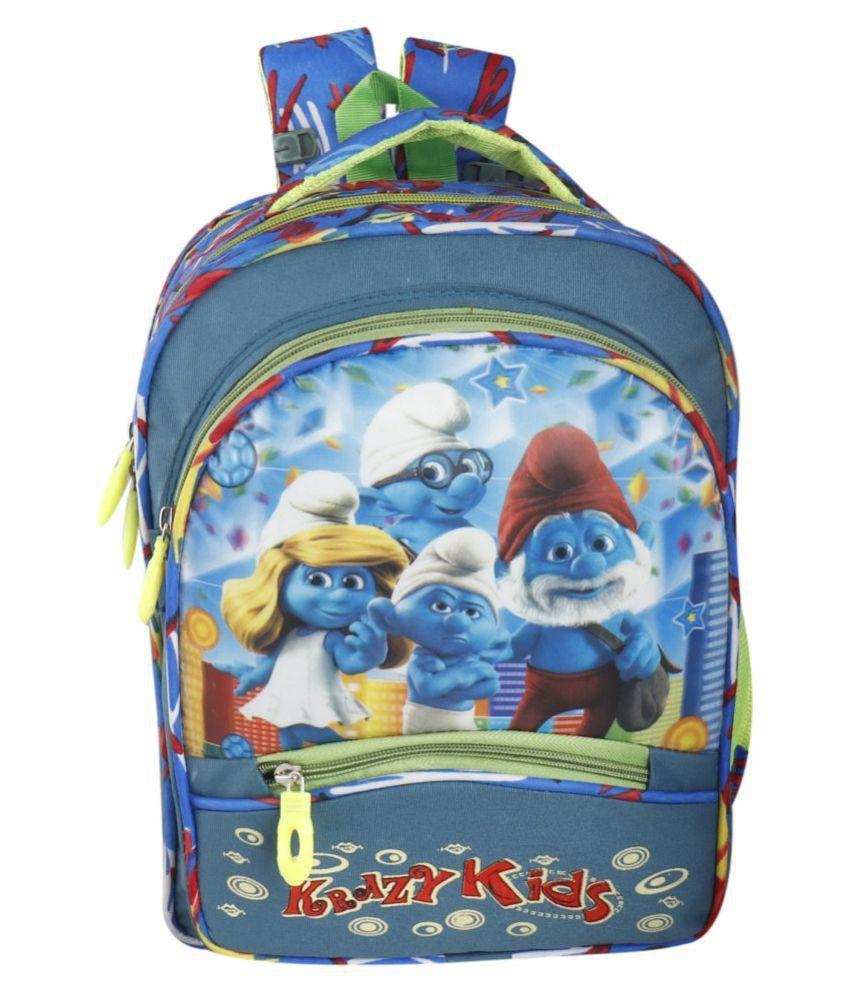 SW Super World Blue School Bag for Boys & Girls