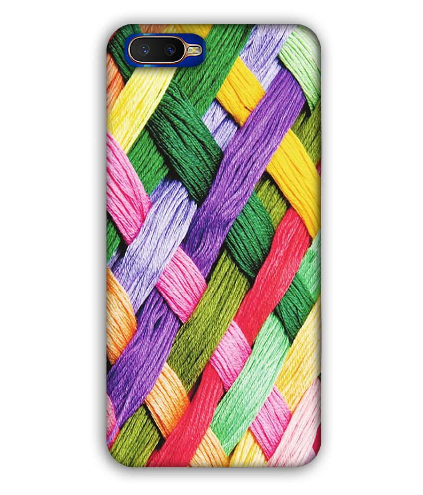 Oppo K1 Printed Cover By Manharry