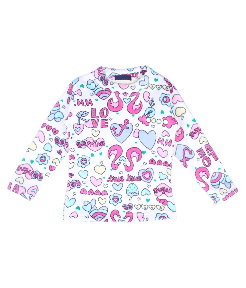 NeuVin Full Sleeves Printed Sweatshirts for Girls