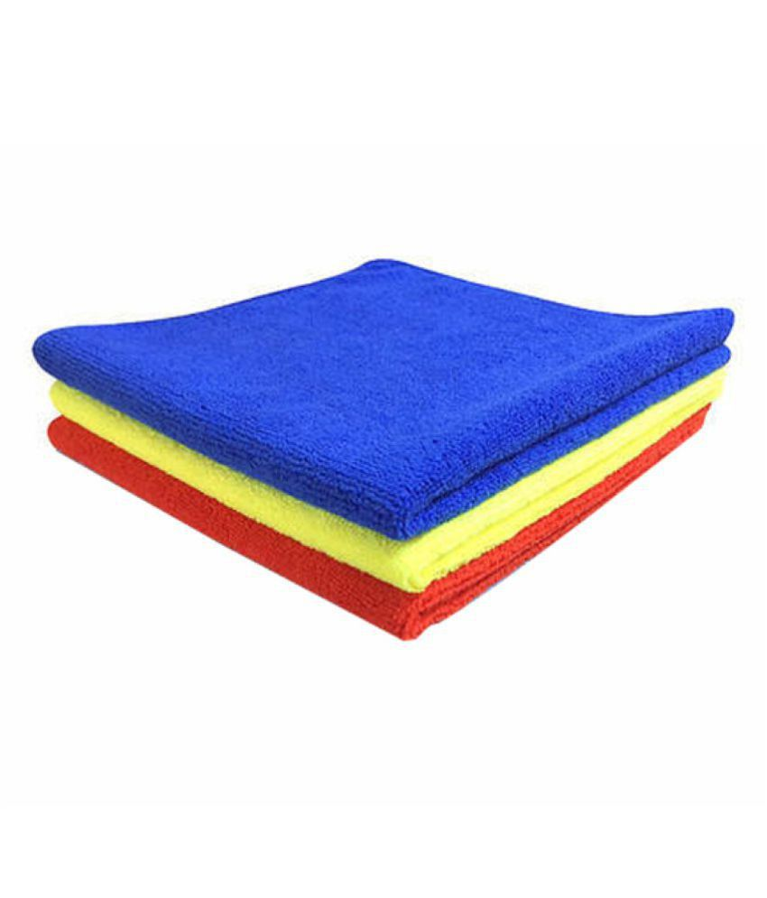 Akima 300 GSM Microfiber Cloth for Car Cleaning and Polishing (40 x 40 cm) -Pack of 3