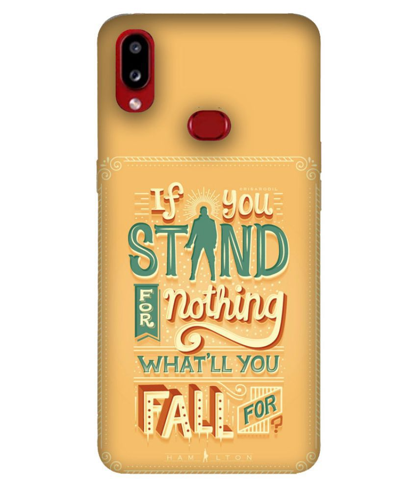 Samsung Galaxy A10s Printed Cover By Emble