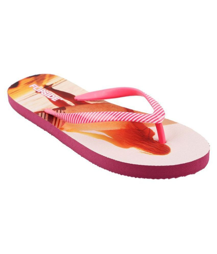 Flipside Apricot Slippers