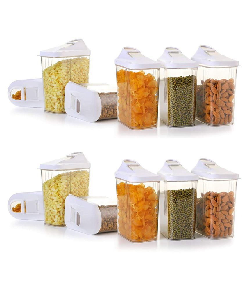 SATTVAM Polycarbonate Food Container Set of 6 750 mL