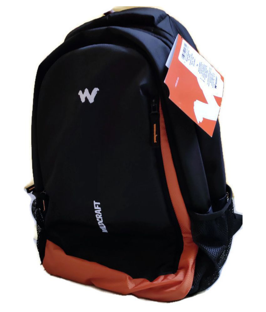 Wildcraft Black Backpack