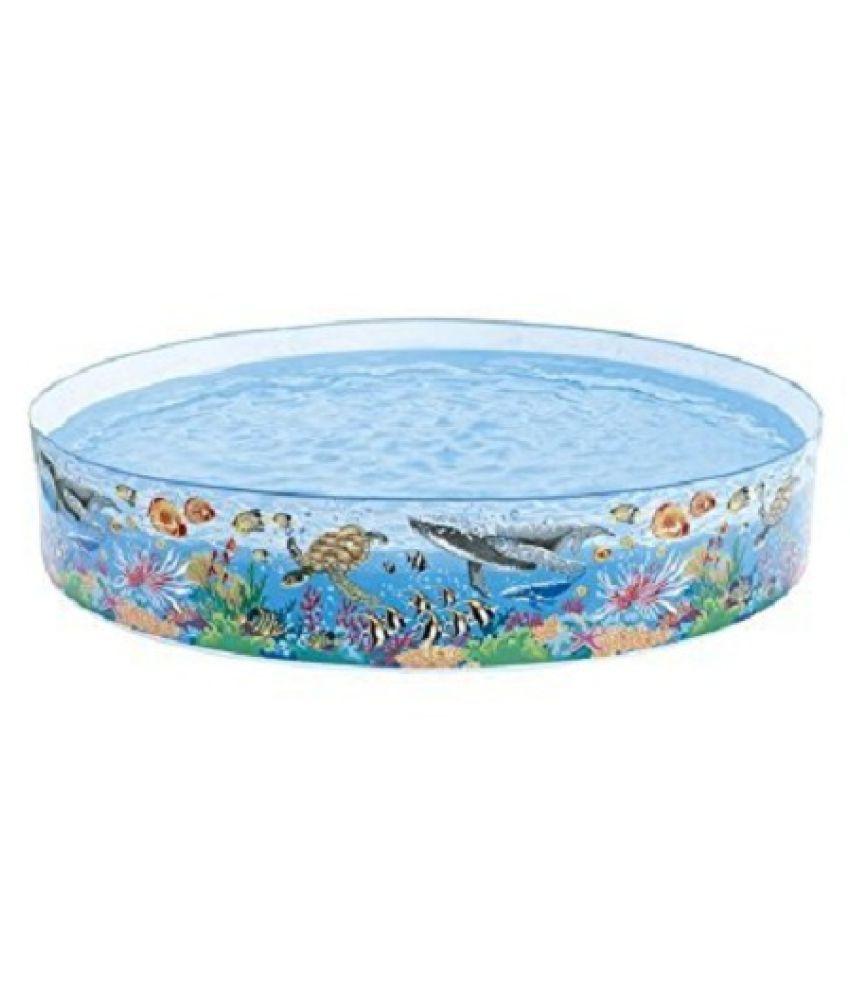 yatri creation  Blue PVC World Splash Swimming Pool - 8 Feet