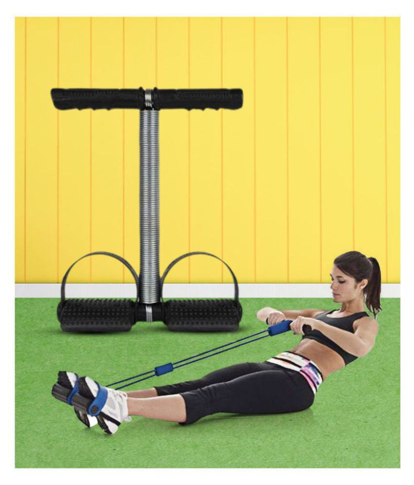 Single Spring Leg Exerciser Tummy Trimmer Equipment Bodybuilding Home Gym Arm Waist Sport Fitness Stretching Slimming Training