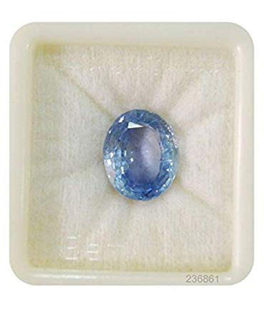 Crafty Soul Design 7.25 -Ratti IGL&I Blue Blue Sapphire (Neelam) Precious Gemstone