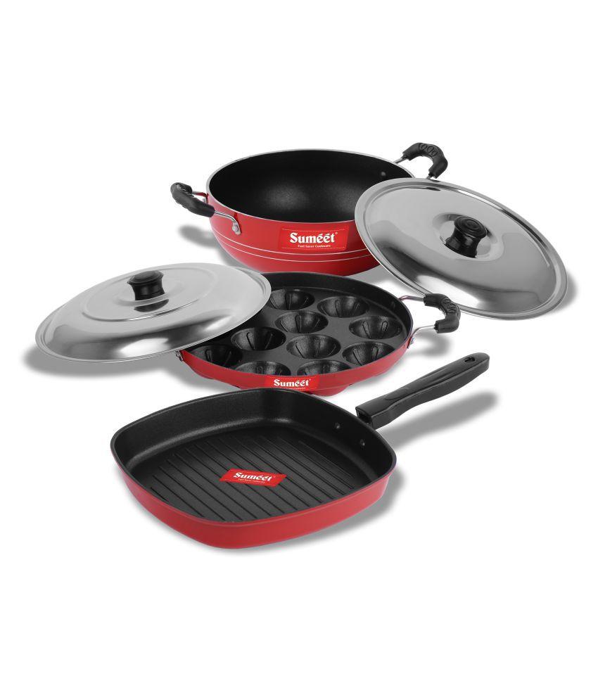 Sumeet Jasper Nonstick 5 Piece Cookware Set