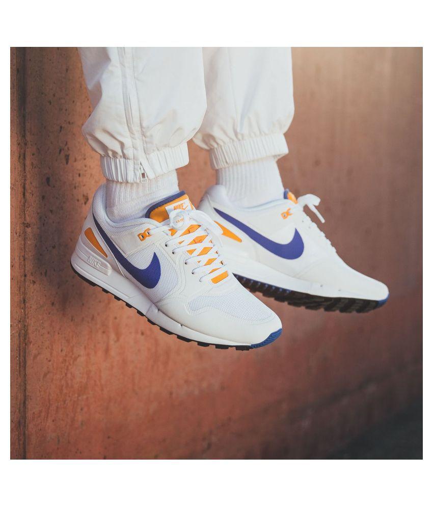 Nike Air Pegasus 89 White Running Shoes
