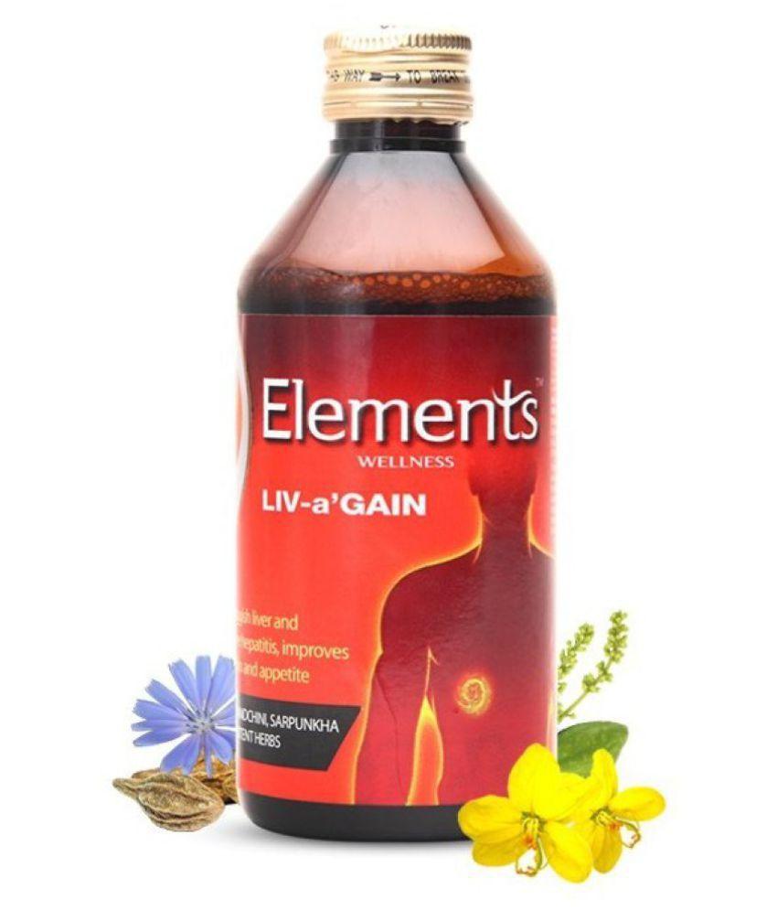 Elements LIV-a-'GAIN Liquid 200 ml Pack of 3