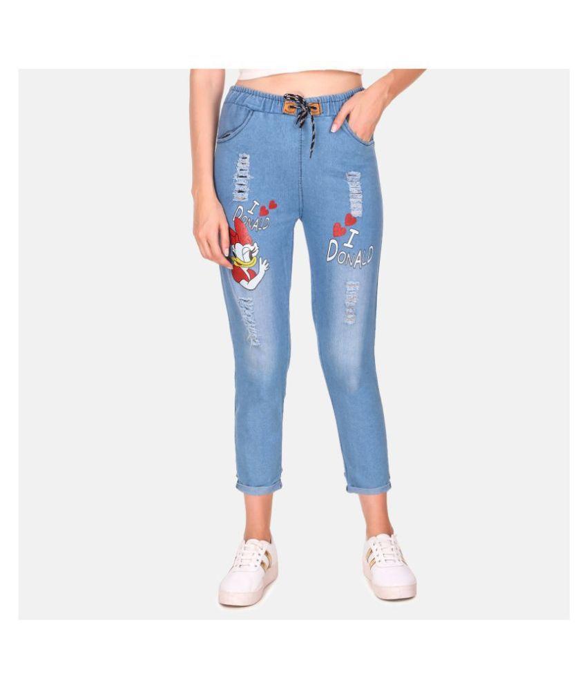 Bossify Denim Lycra Jeans - Blue