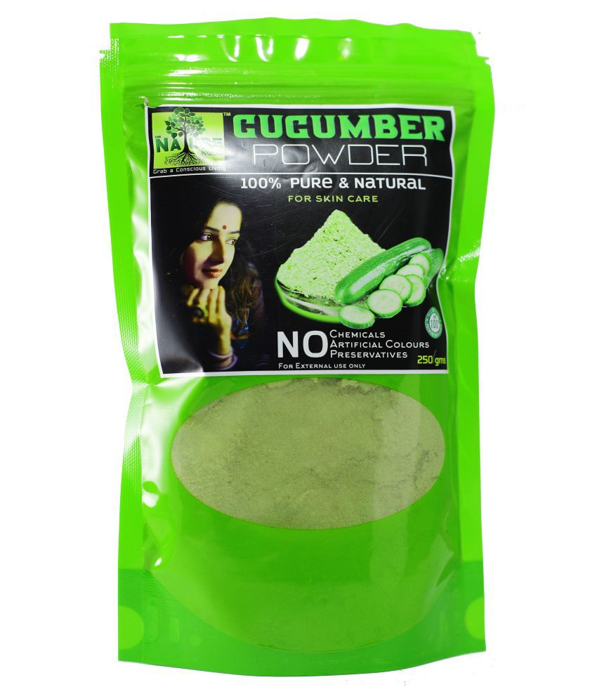 THE NATURE ROOM CUCUMBER POWDER 250 gms. 100% Pure & Natural Face Face Pack 250 gm