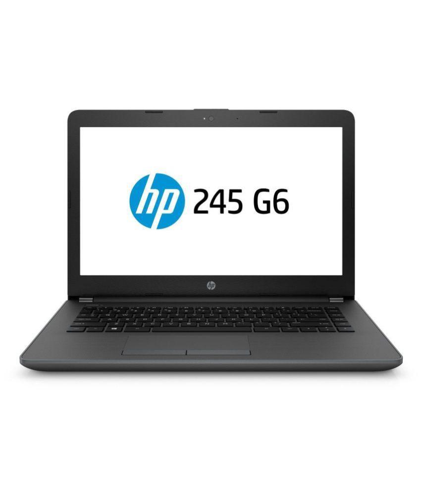 HP 245 G6 (5LR52PA) Laptop (AMD Dual Core A9/4 GB/1 TB/DOS)