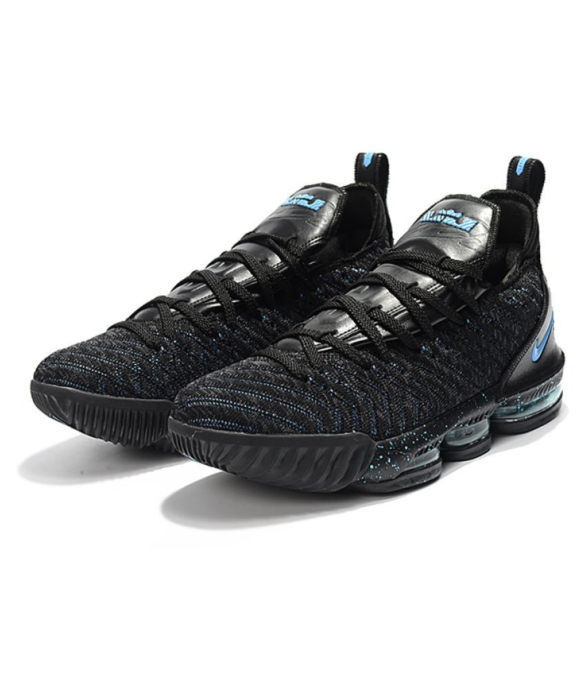 Nike Lebron 16 Bhm Running Shoes Black