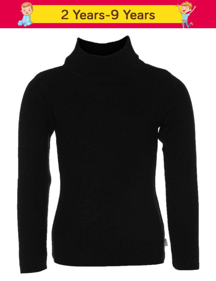 Ad & Av Black Full Sleeve Sweater