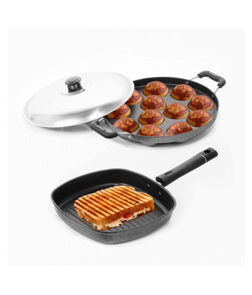 Sumeet Nonstick 3 Piece Cookware Set