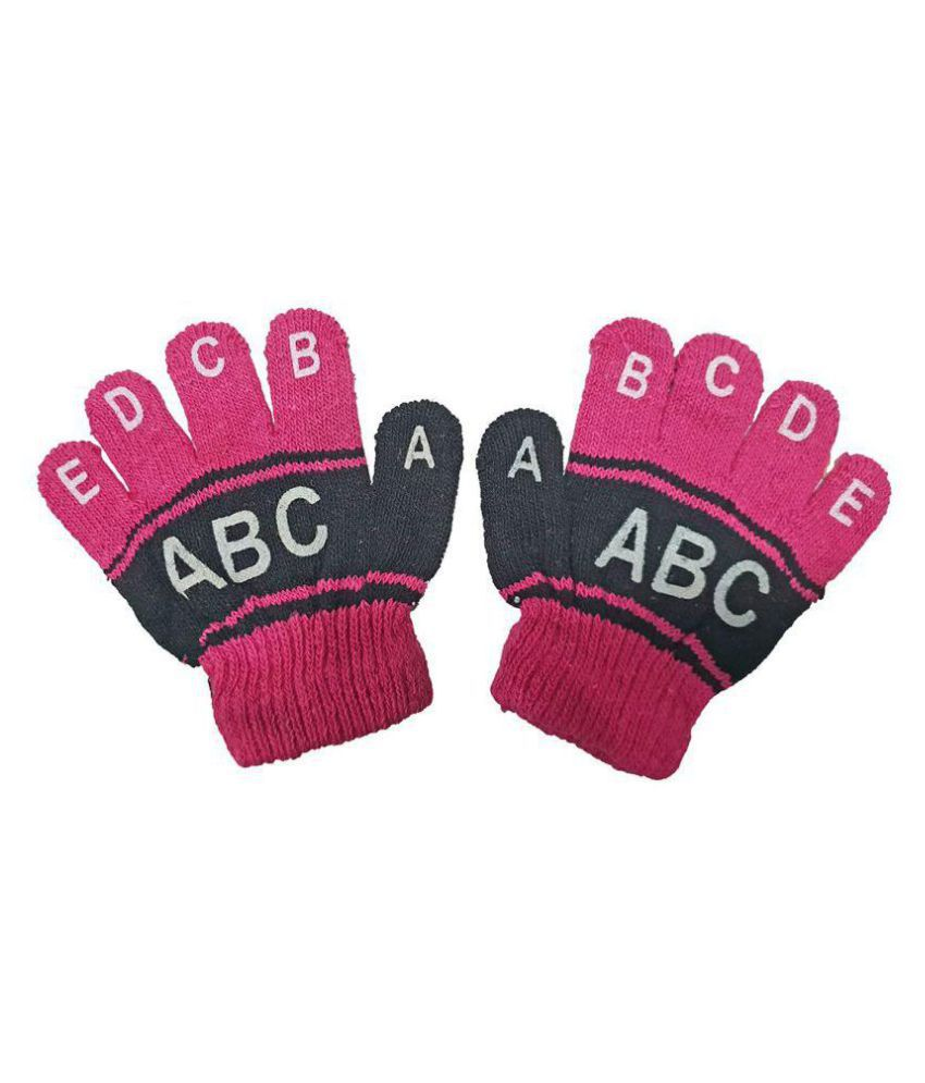 Gouravsumana Baby Boys and Baby Girl's Gloves ( Multicolour ; Pack Of 1 ) 6-12 Months