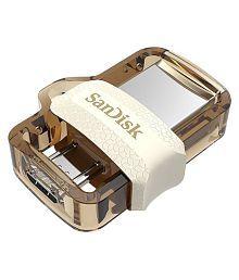 Sandisk Dual Drive m3.0 64gb Gold