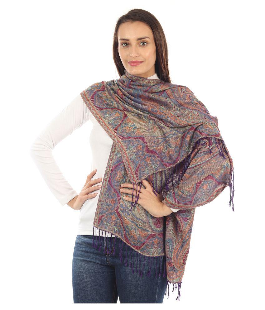 MUFFLY Multicoloured Shawl
