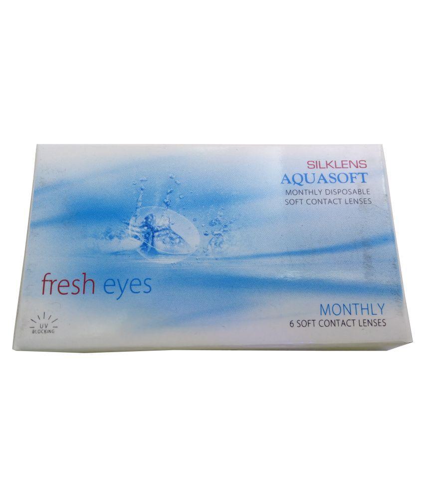 Aquasoft FRESH EYE Monthly Disposable Spherical Contact Lenses