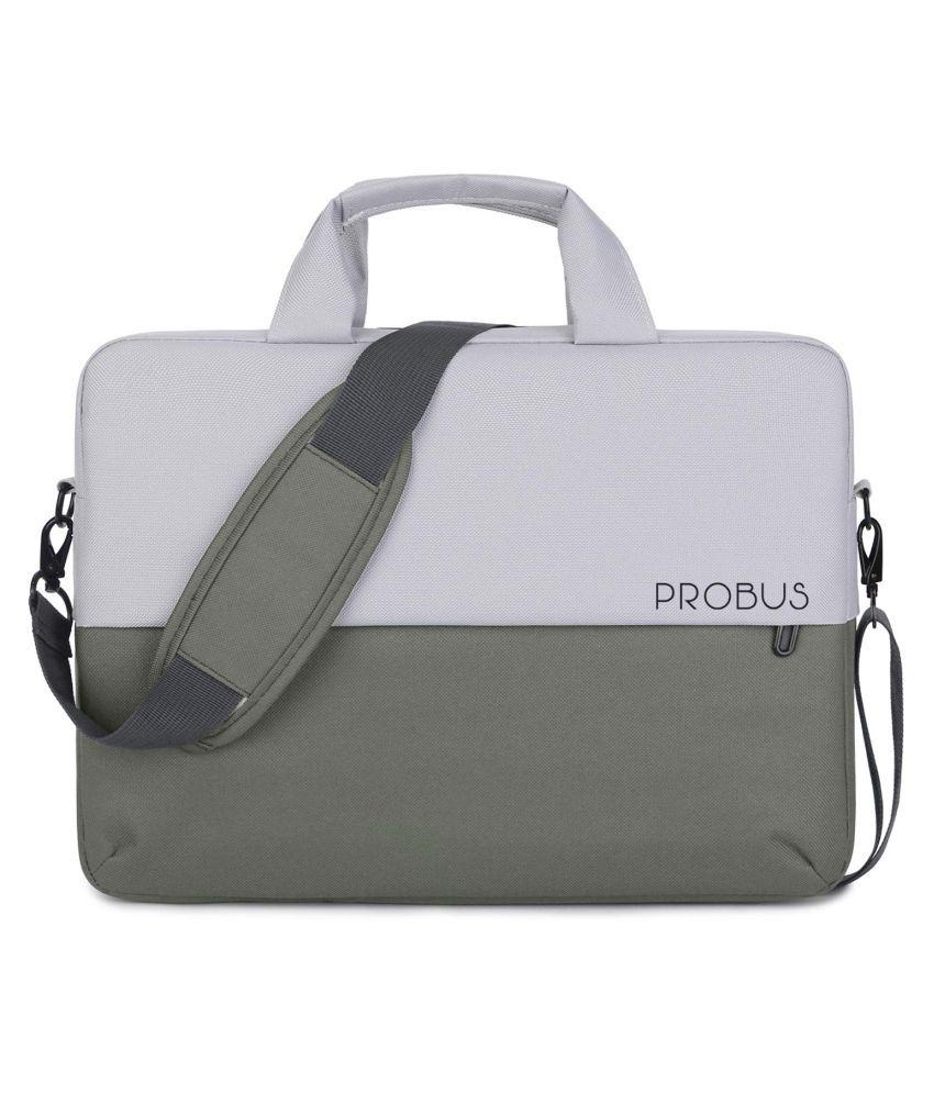 Probus Laptop Sleeve Dual Color 13.3 Inch Laptop Bag - Grey
