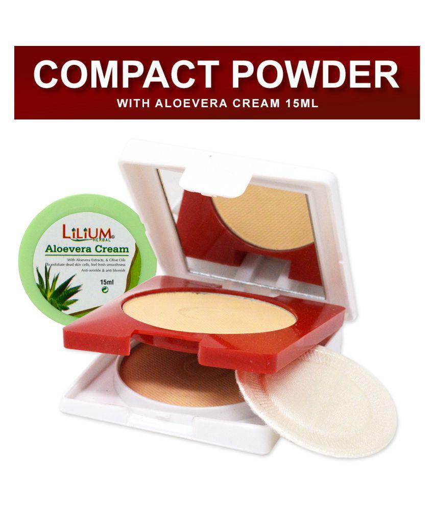 ADS UV Whitening Fairness-1125 Pressed Powder With Aloevera Cream Medium 20 g